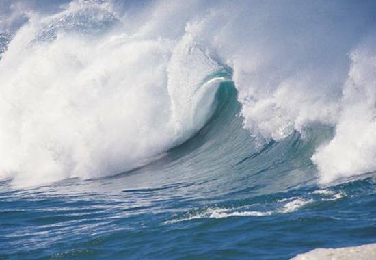 o mar e grande