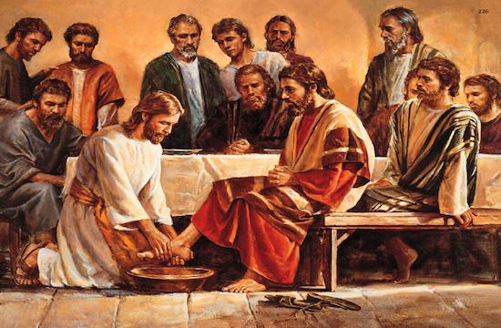 jesus se humilhou